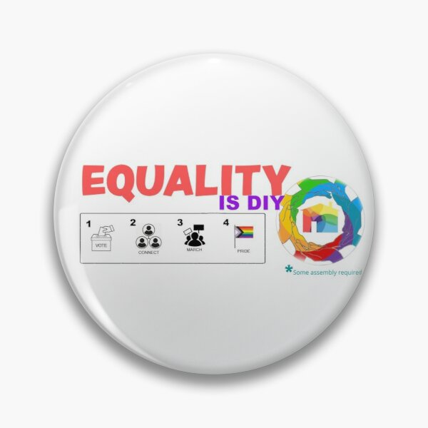 Equality is DIY Pin