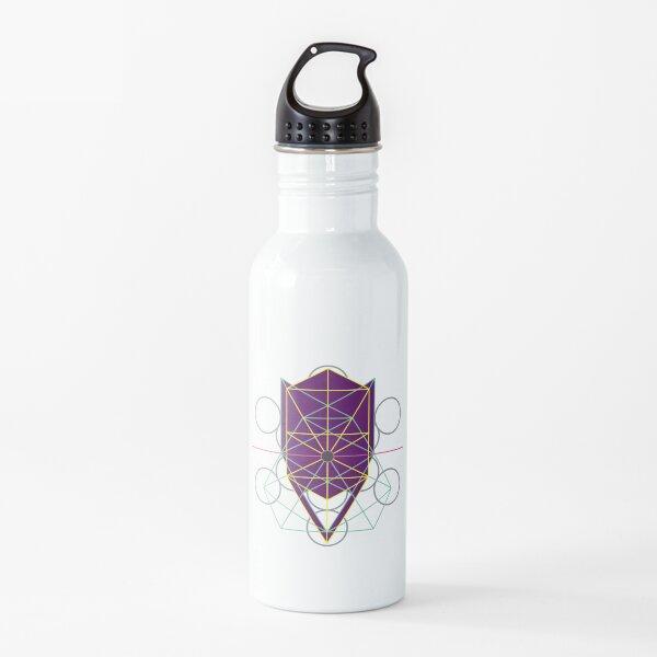 Cosmic Face, Tree of Life - Purple Water Bottle