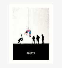 99 Steps of Progress - Pinata Art Print