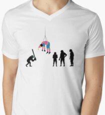 99 Steps of Progress - Pinata Men's V-Neck T-Shirt