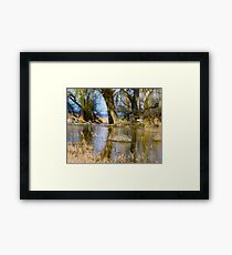 Willow Creek Reservoir Framed Print