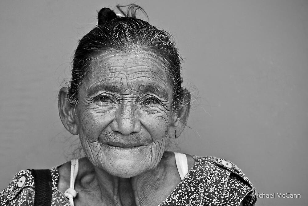 Beautiful Honduran Woman by Michael McCann