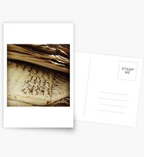 Archival Bank Notes Postcards