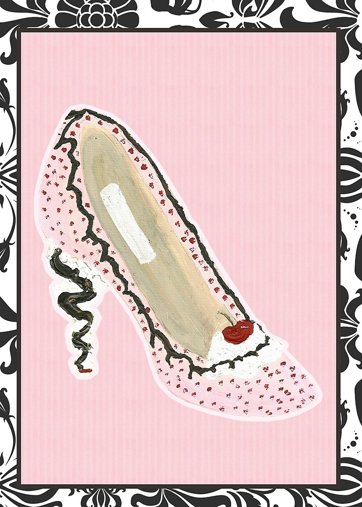 Ice Cream Shoe by Patsy Castle