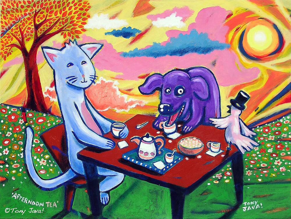 'Afternoon Tea' by Jerry Kirk