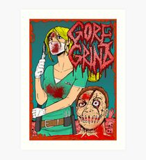 Goregrind - Nurse Kate Gore Art Print