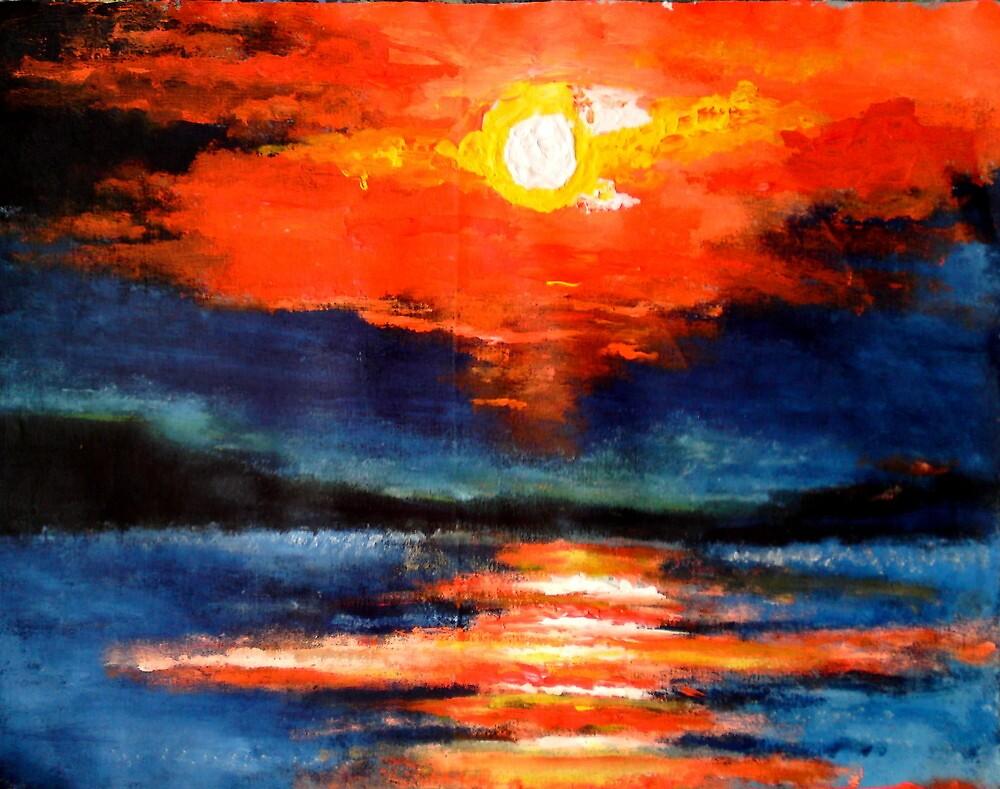 Reflection on the Sea by Joe Scotland
