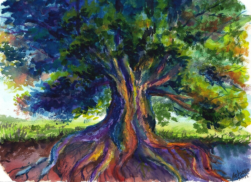 Energy Tree by Varvara Drokova