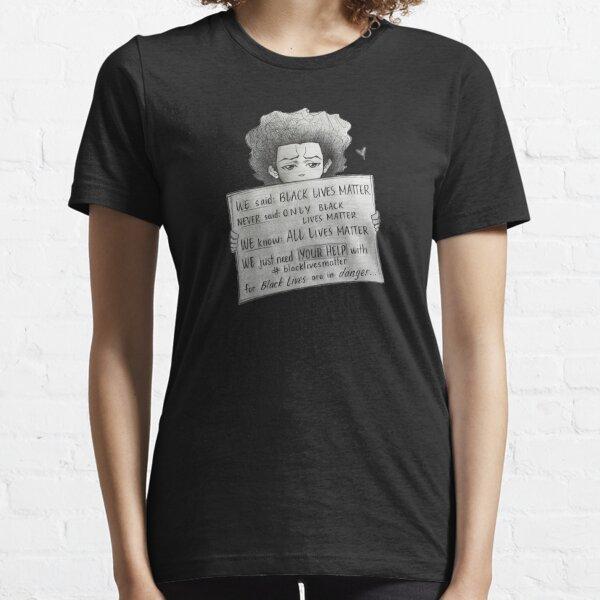 The Boondocks Black Lives Matter Essential T-Shirt