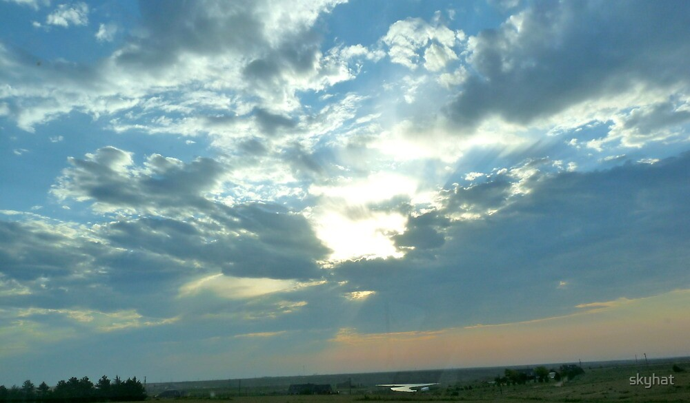Magical Sun & Clouds by skyhat
