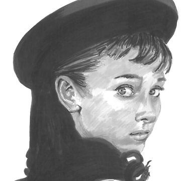 Audrey Hepburn by tonito21