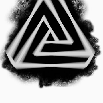 Penrose Triangle by Spectra-Tees