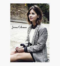 Jenna Coleman Photographic Print