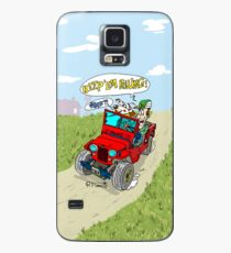 Willys Cj2A jeep at the farm Case/Skin for Samsung Galaxy