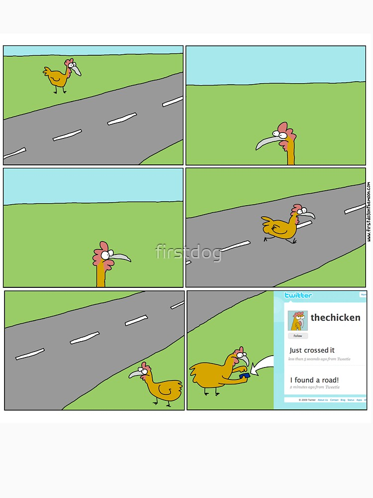TShirtGifter presents: The Twitter Chicken   Unisex T-Shirt