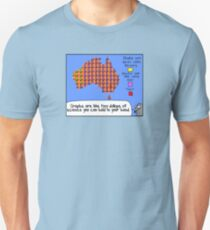 Graphs are like tiny dollops of science... T-Shirt