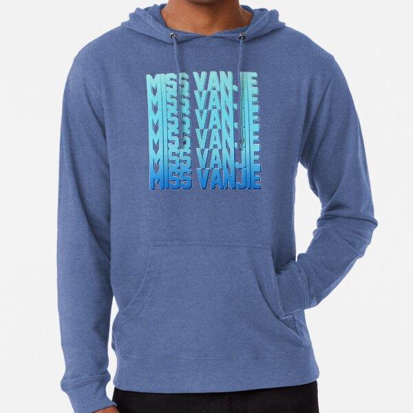 Miss Vanjie! (10) - Sea blue gradient (blue 1) Lightweight Hoodie