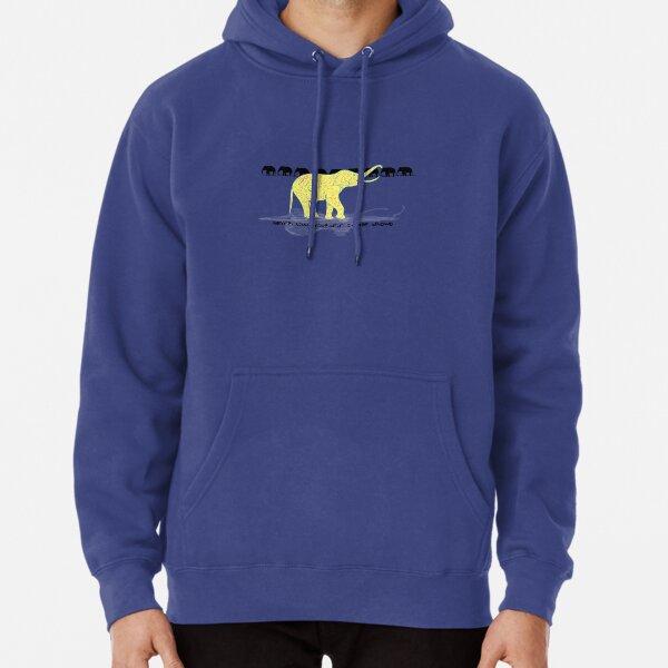 Elephant - Aqua Libra Pullover Hoodie