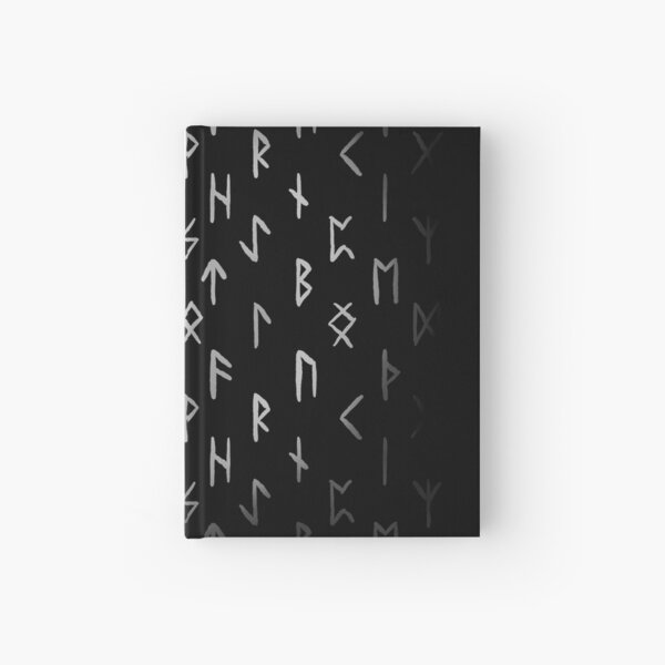 Old futhark Hardcover Journal