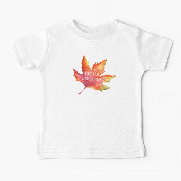 Autumn Leaf Little Explorer Tatra Cottage Baby T-Shirt