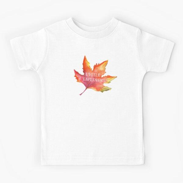 Autumn Leaf Little Explorer Tatra Cottage Kids T-Shirt