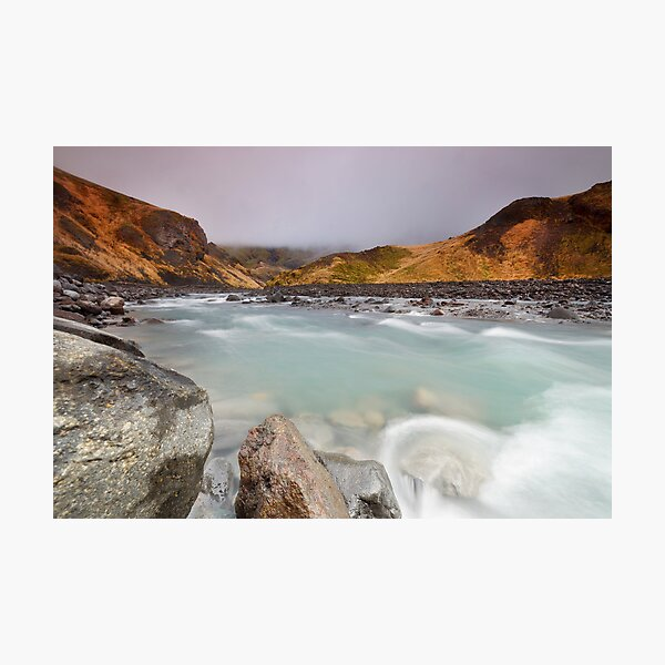 Flowing River Photographic Print