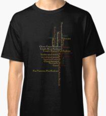 Typography Tee 4 Classic T-Shirt