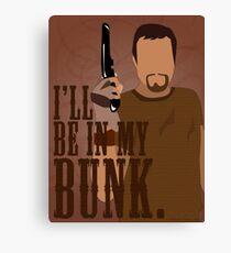 I'll Be In My Bunk - Jayne Cobb Canvas Print