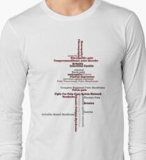 Typography Tee 5 Long Sleeve T-Shirt