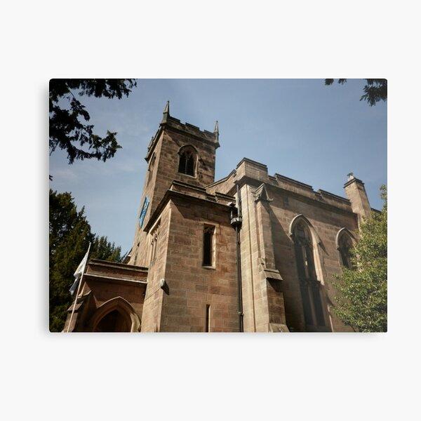 St Mary's Church, Cromford Metal Print