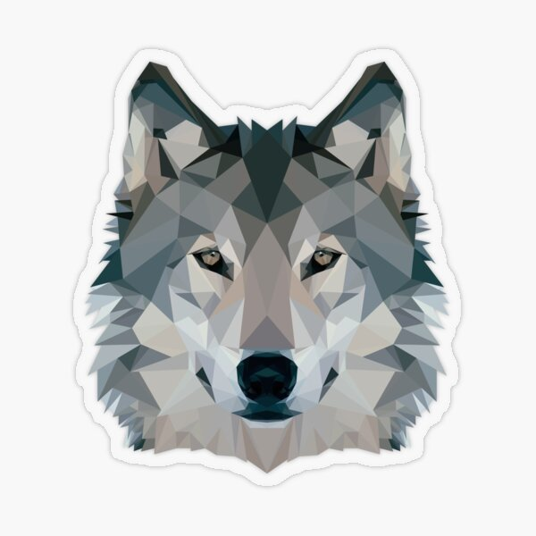 Wolf  Transparent Sticker