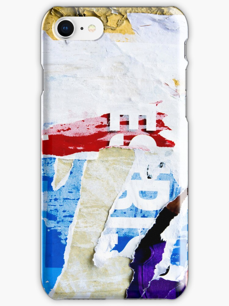 Old posters iPhone Cases by ilolab