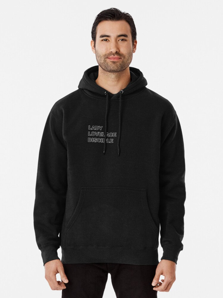 Alternate view of Lady Lovelace disciple Girl Programmer Pullover Hoodie
