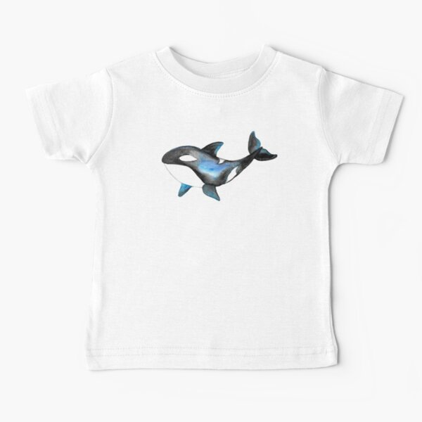Whale Orcas Tatra Cottage Baby T-Shirt
