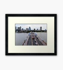 """View of St. Petersburg, Florida, from """"The Pier"""" Framed Print"""