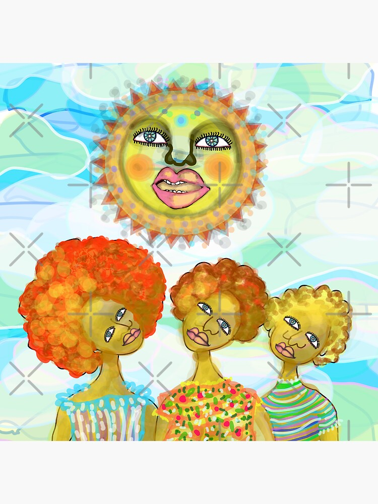 The Sun and the Afro Soul Sisters by aremaarega
