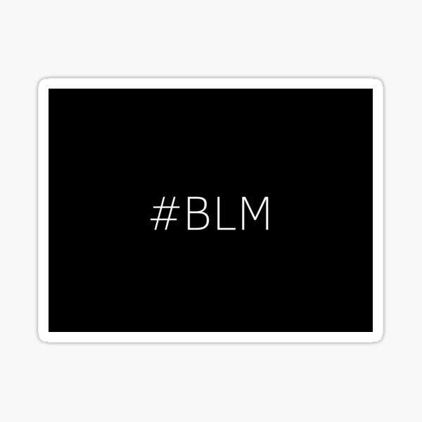 #BLM Sticker