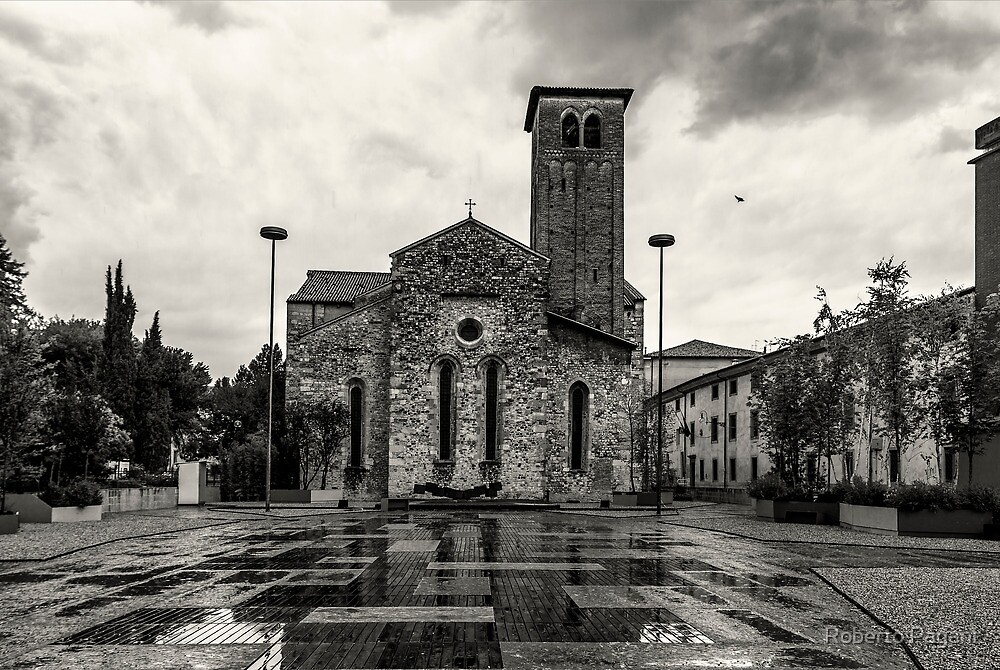 San Francesco church by Roberto Pagani
