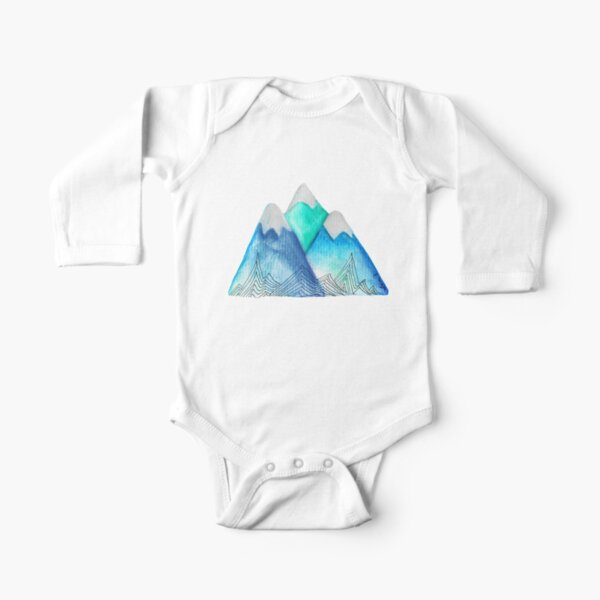 Blue Mountain Tatra Cottage Long Sleeve Baby One-Piece