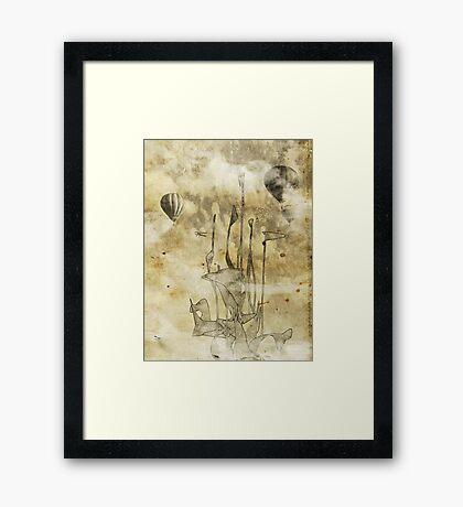 strange world Framed Print