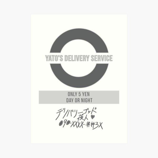 Noragami Yato Delivery Service Art Print