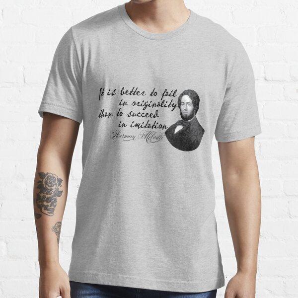 Herman Melville Camiseta esencial