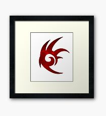 Shadow the Hedgehog Logo  Framed Print