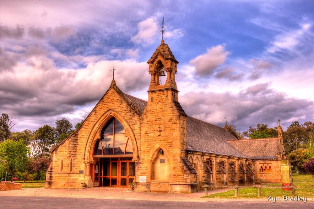 All Saints Anglican Church Canberra WAS railway Station by Kym Bradley