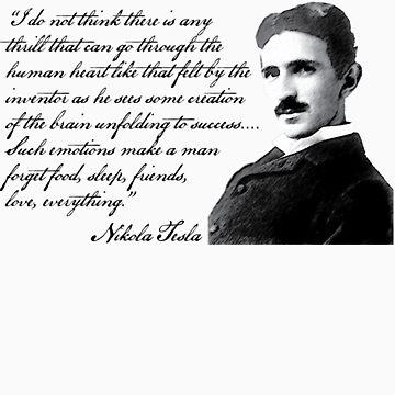 Nikola Tesla by HaemishBew