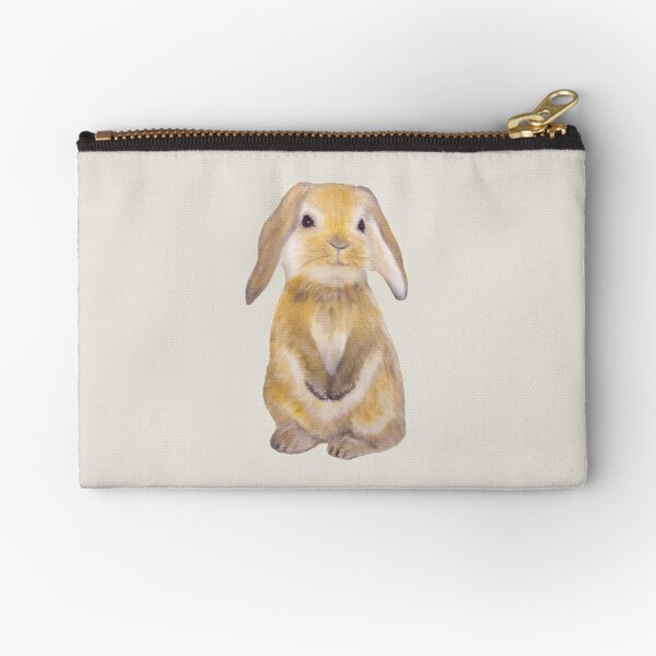 Bunny Painting Tatra Cottage Zipper Pouch