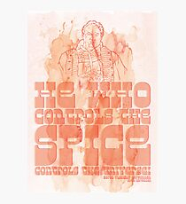 The Spice Photographic Print