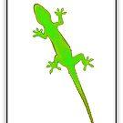 Art Gecko - Fluro by Joy Rensch