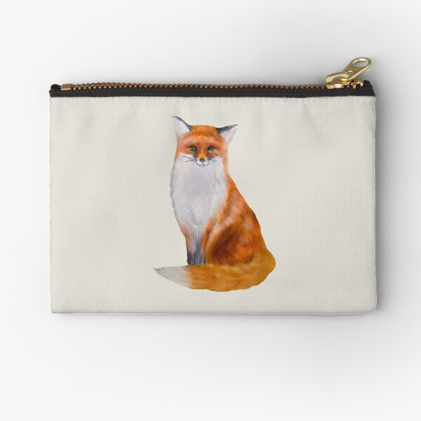 Fox Painting Tatra Cottage Zipper Pouch