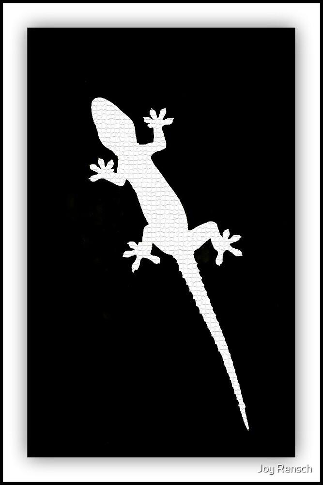 Art Gecko - Black & White by Joy Rensch